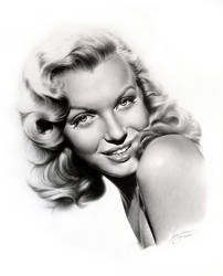 Marilyn Monroe by imaginee