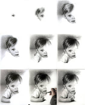 Baby portrait wip images