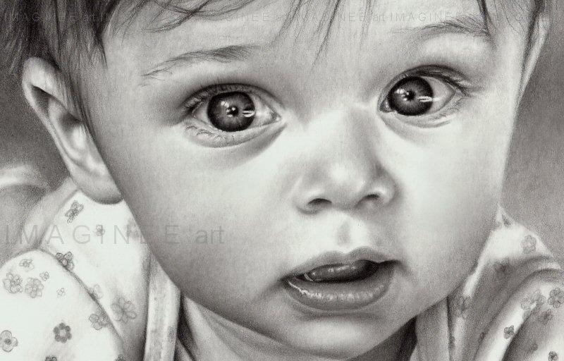 Baby portrait closeup by imaginee on DeviantArt