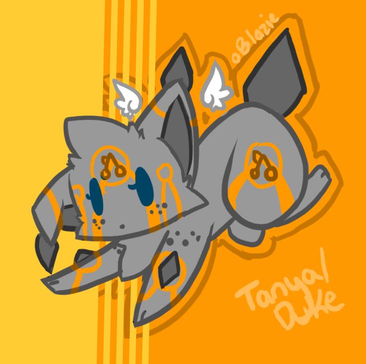 Tanya_Duke doodle by Blazeflight1O1