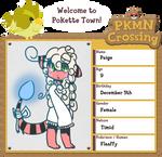 PKMN Crossing App - Paige