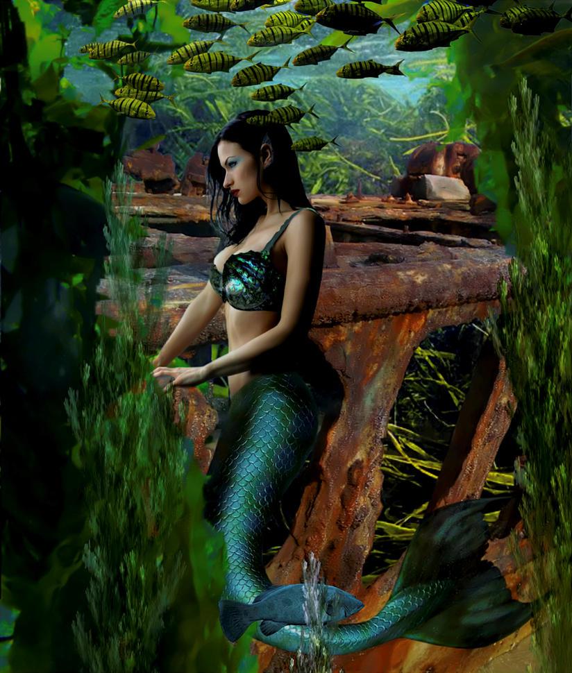 Mermaid Susanna by sirenabonita