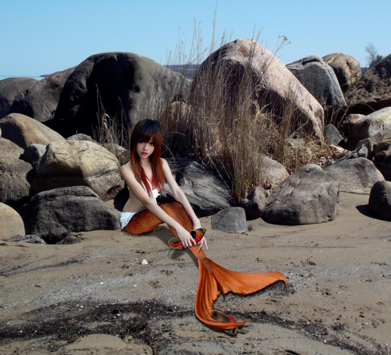 Cinderella Mermaid - where IS that fairygodmother? by sirenabonita