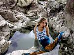 Mermaid Luana Royal Blue