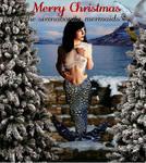 Mermaid Hayley Merry Christmas