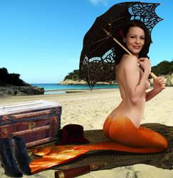 Mermaid Lily ~ by sirenabonita