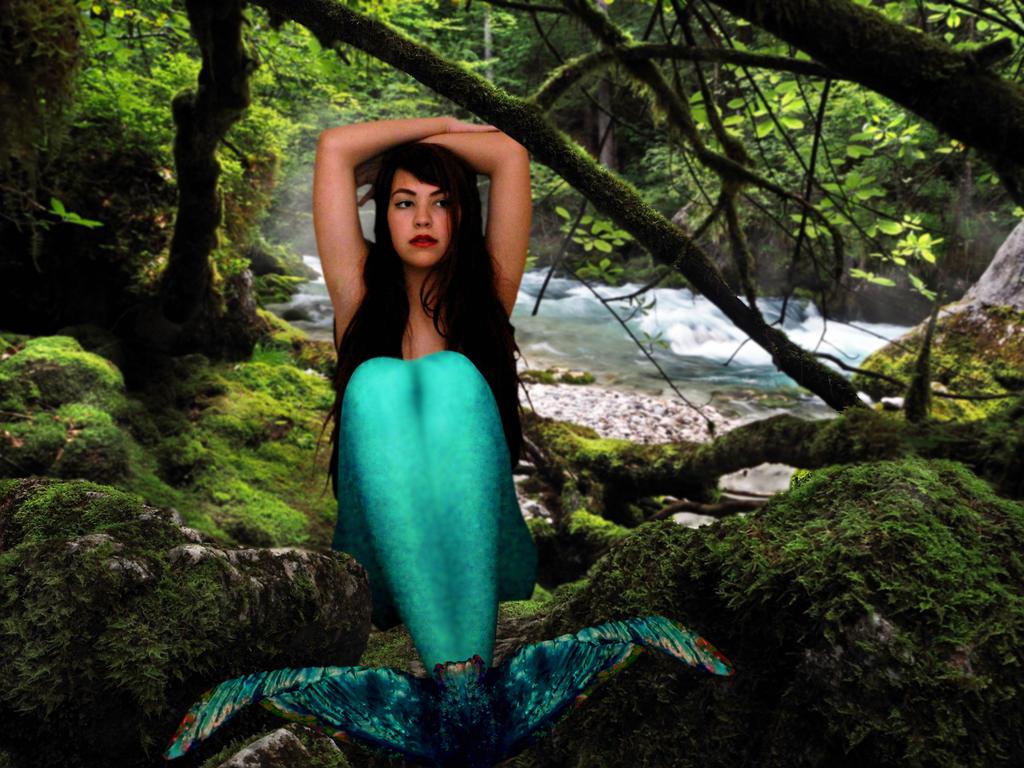 Mermaid Kaylee ~ a River's Secret by sirenabonita