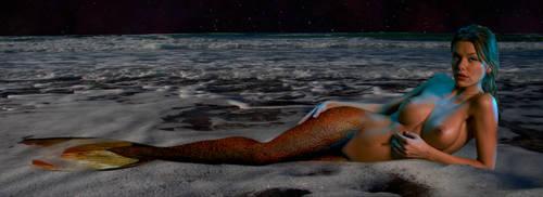Mermaid Anjou ~ a celestial goddess by sirenabonita