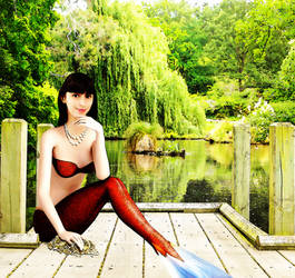 Mermaid Queen Werandra ~ by sirenabonita