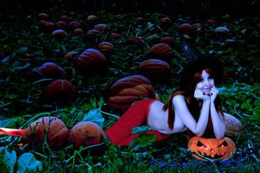 Mermaid Disharmonica ~ Happy Halloween by sirenabonita