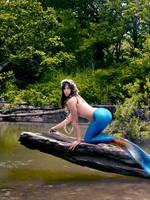 Mermaid Diana ~ Flowers by sirenabonita