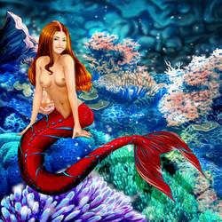 An Interview with Mermaid Eva by sirenabonita