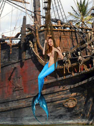 Mermaid Ann ~ Whitecap Bay by sirenabonita