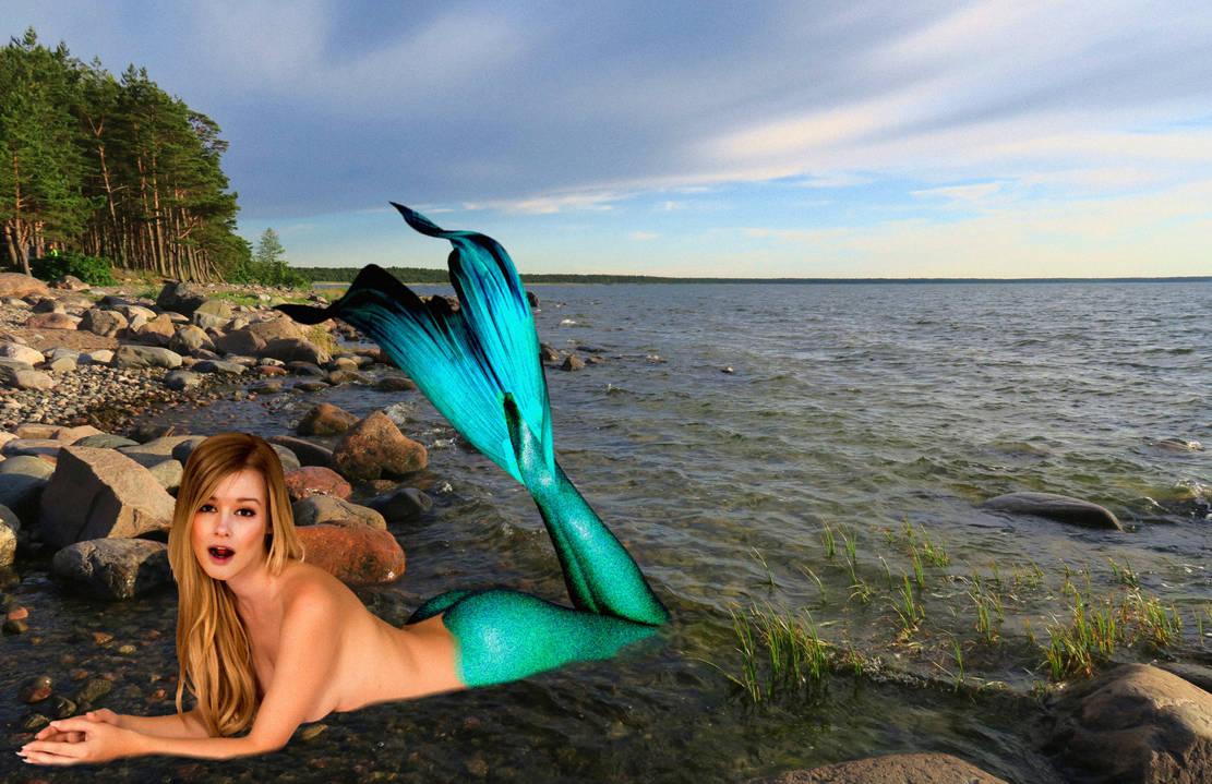 Mermaid Olivia ~ Well, Hello There! by sirenabonita