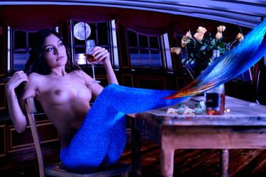 Mermaid Leila ~ in command by sirenabonita