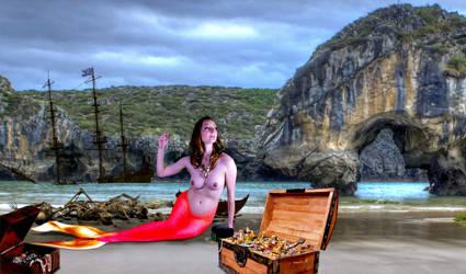 Mermaid Bianca ~ Whitecap Bay by sirenabonita