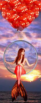 Mermaid Disharmonica ~ Aeronaut II by sirenabonita