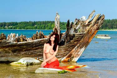 Mermaid Disharmonica ~ but, you Promised! by sirenabonita