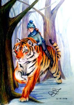 Tiger-rider