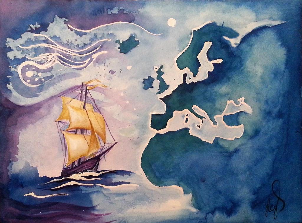 Across the Atlantic by ZiskaJa