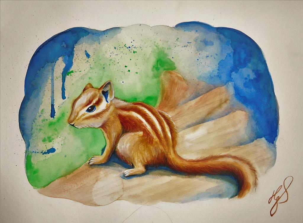 Chipmunk by ZiskaJa
