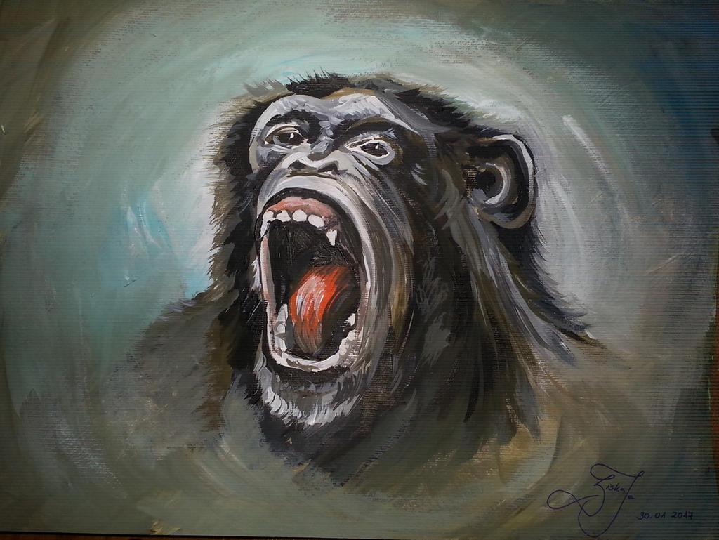 Mad Monkey by ZiskaJa