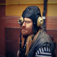 The SteamPunk Boatswain by B0NDART