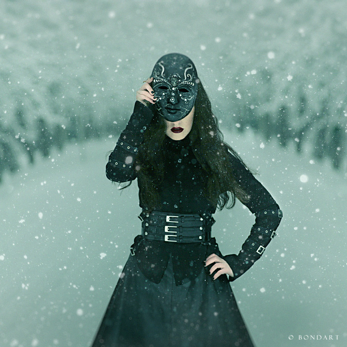 The Woman In Black by B0NDART