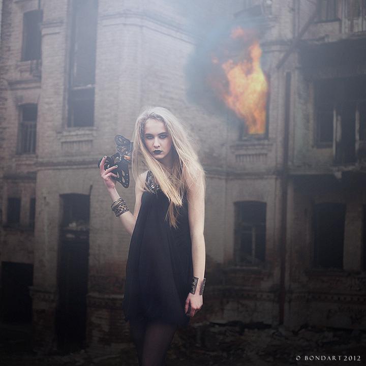 Burning Down the House by B0NDART