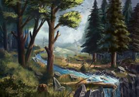 landscape #4 by Sylar113