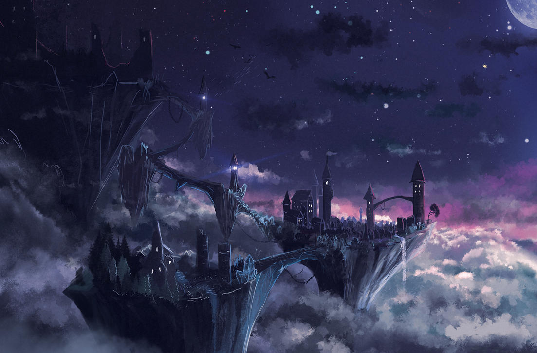 City in the sky by Sylar113