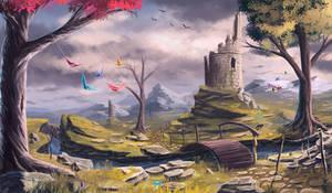 landscape #9 by Sylar113