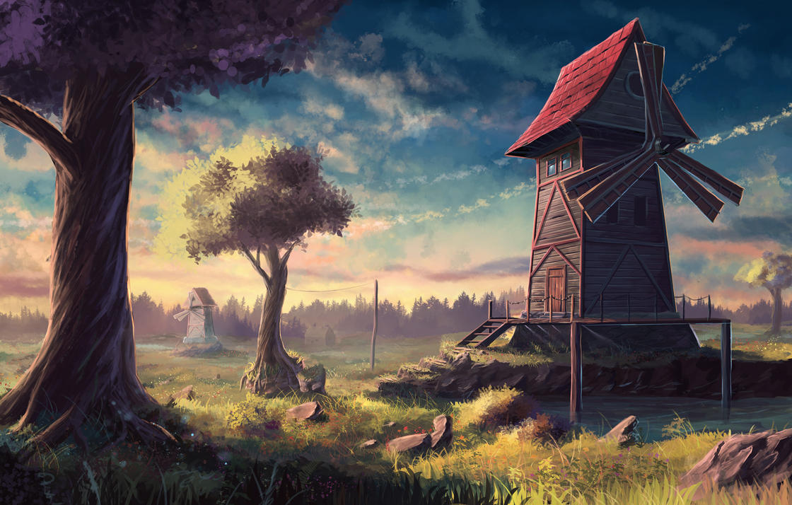 пейзаж #18 по Sylar113