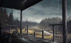 landscape #19 (Rain)