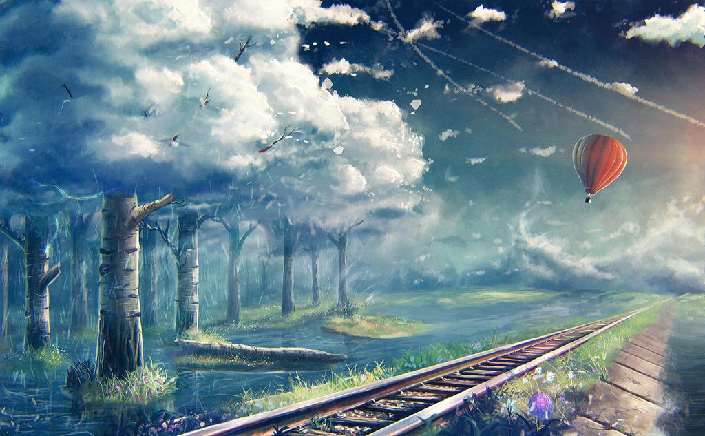 landscape #29 by Sylar113