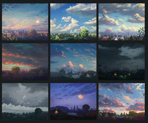 clouds study by Sylar113