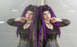 Cybergoth Purple by VioletteSucree