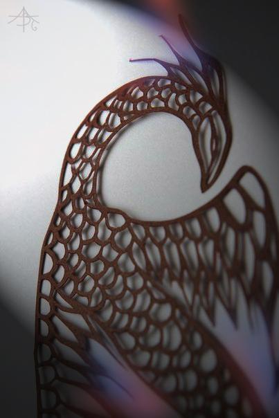 paper Dragon by Apirusova-Basti