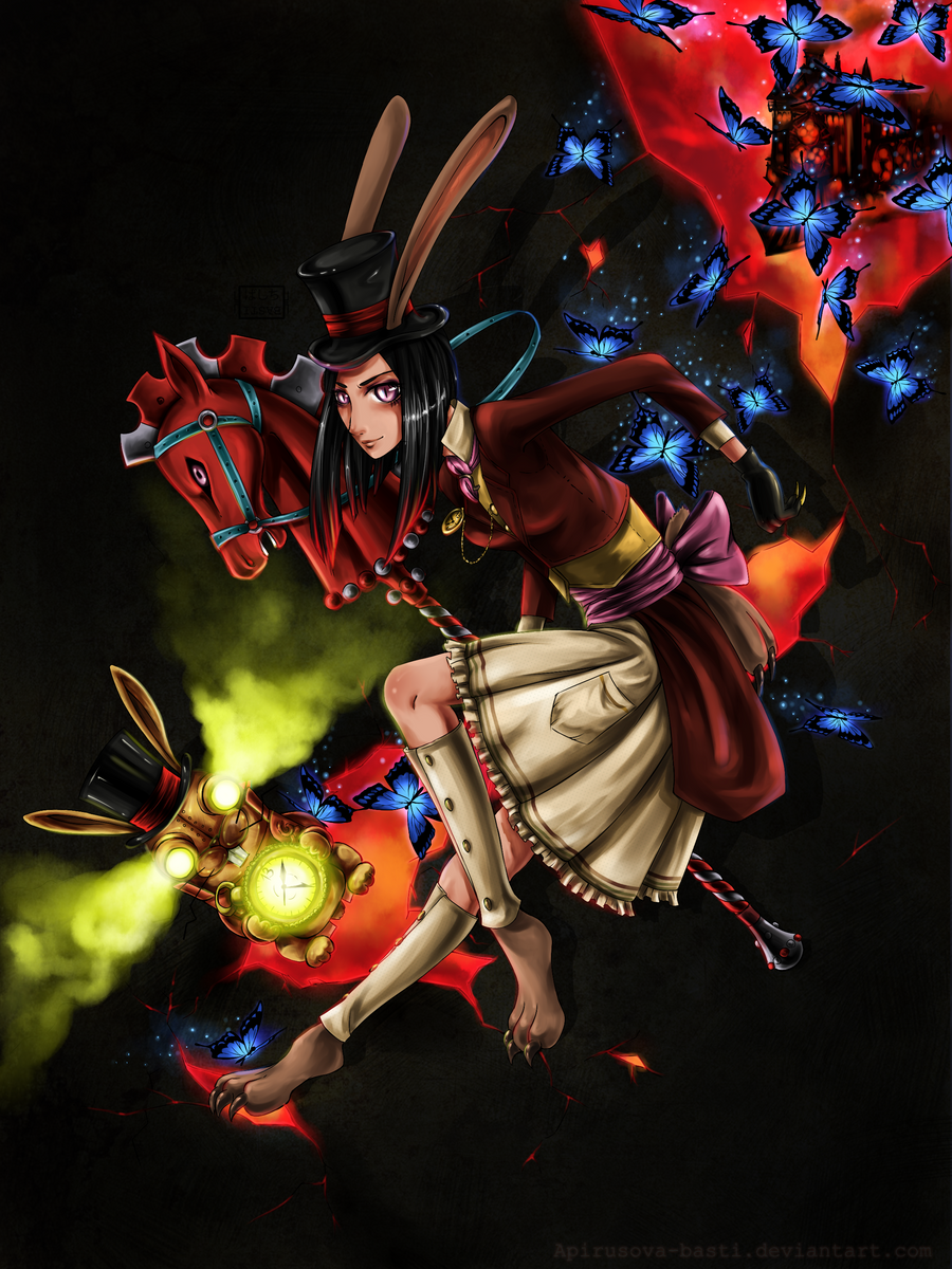 Alice Madness Returns by Apirusova-Basti