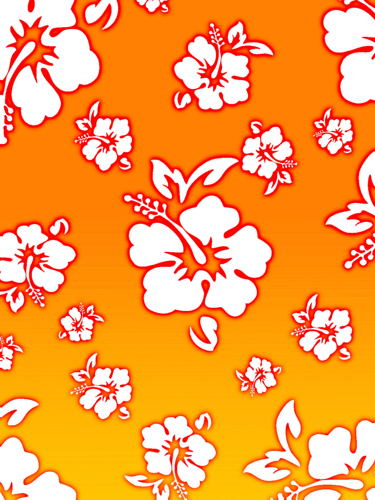 Hawaiian Flower Background By Rengurenge On Deviantart