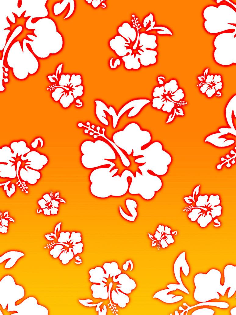 Hawaiian Flower Background by rengurenge