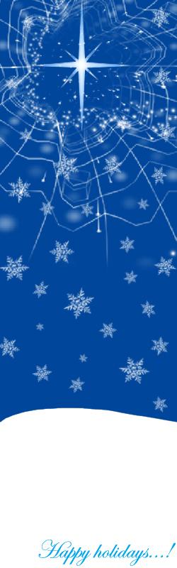 Holidays Bookmark by erisama