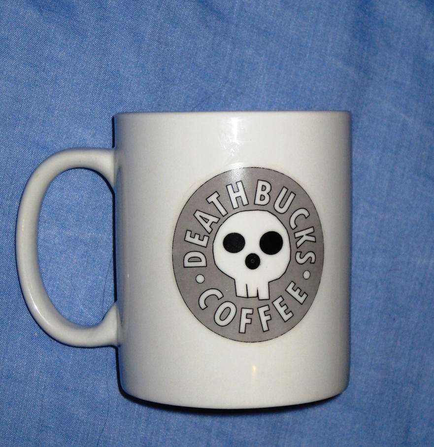Deathbucks Mug by KibouAsha