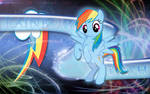 Rainbow Loyalty Dash Wallpaper