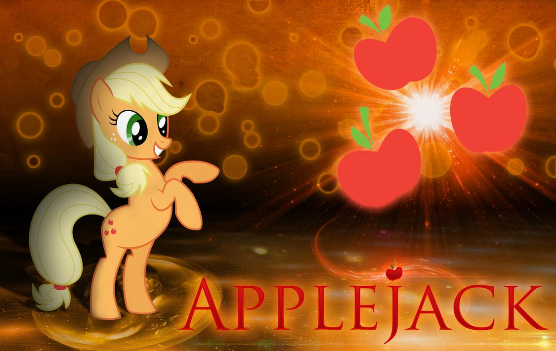 Applejack Honesty Wallpaper by MLArtSpecter