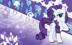 Rarity Generosity Wallpaper