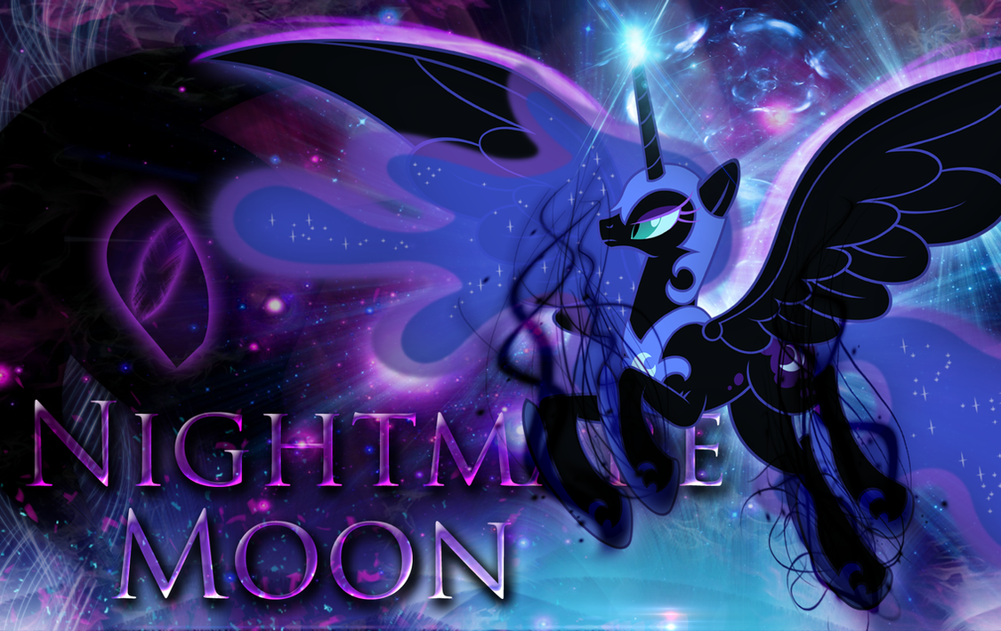 Nightmare Moon Wallpaper by MLArtSpecter