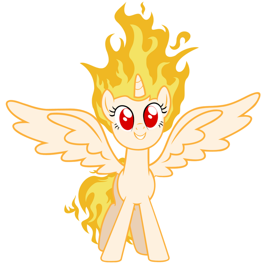 Twilicorn Is On Fire! by MLArtSpecter