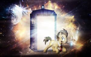 Doctor Whooves Wallpaper by MLArtSpecter