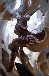 The fairy of the mountain by TeemuTaiga